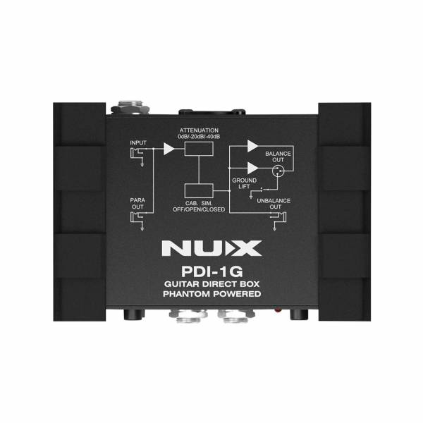 Direct Box para Guitarra NUX PDI1G