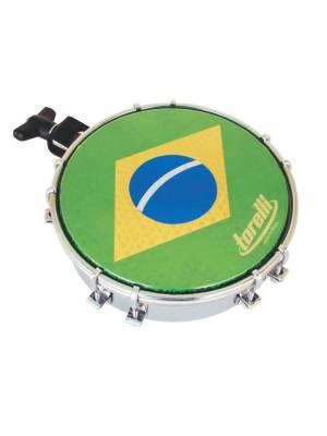 "Tamborim 06""Pele Brasil Torelli"