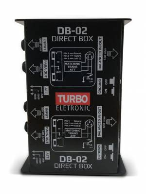 Direct Box Passivo Duplo Turbo DB-02